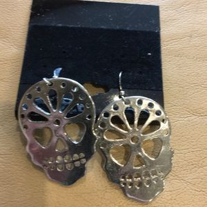 🏈5/$20🏈Sugar skull earrings